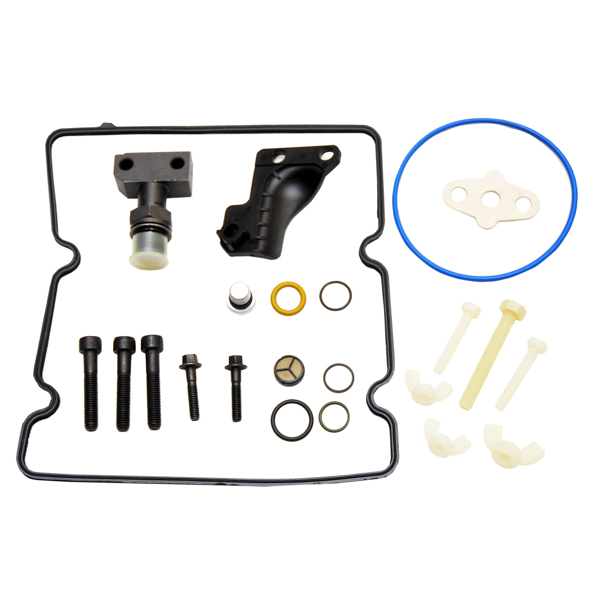 High Pressure Oil Pump (HPOP) Connector Fitting Upgrade Kit, 2005-2007 F-Series, 2005-2010 E-Series