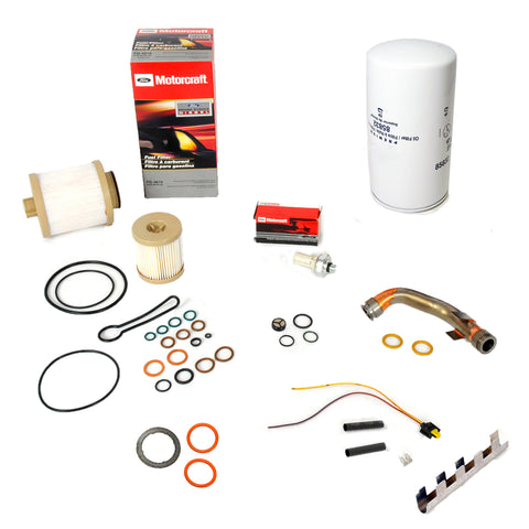 2003-2004 6.0L Van, E-Series, Professional Package - BPD Oil System