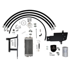 BulletProof Oil Cooler System, Air-Cooled Supplemental Kit, 2008-2010 F-Series 6.4L Diesel