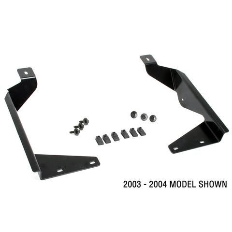 Bullet Proof Diesel LED Light Mounting Brackets, 2001-2004 Ford, Super Duty F-Series