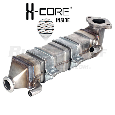Upgraded 68026996AA RAM/Dodge/Cummins 6.7L Non-Cab & Chassis EGR Cooler (HOSE CLAMP VERSION)