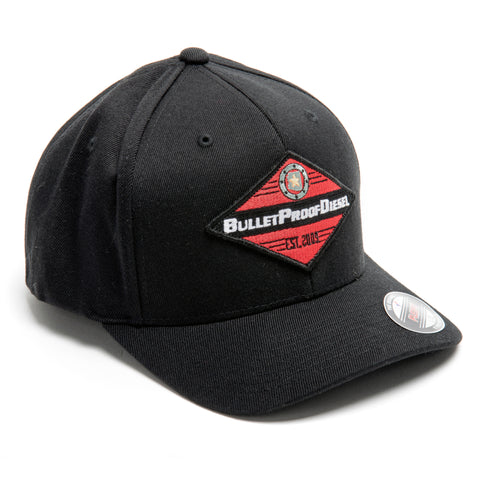 BulletProofDiesel Stretch Fit Hat - Diamond Patch
