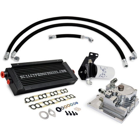 BulletProof Engine Oil System 2005-2007 - BulletProof Oil Filtration - Heavy-Duty Air/Oil Cooling; Designed for Hot Climates, T