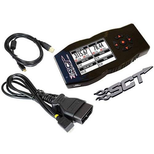 SCT X4 Preloaded Tuner for 6.0 / 6.4 Ford Powerstroke