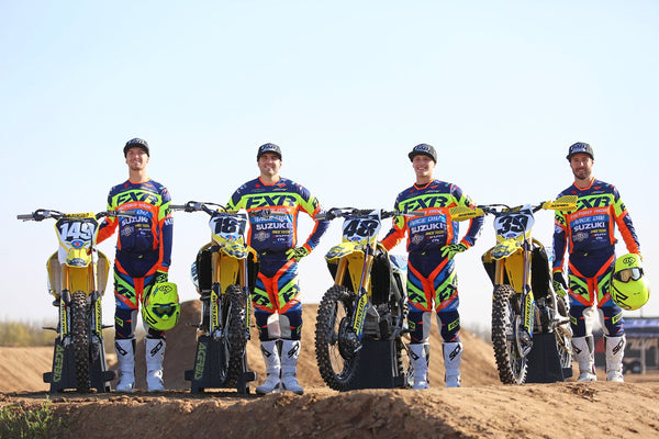 FXR Roster at A1 | Monster Energy AMA Supercross 2018