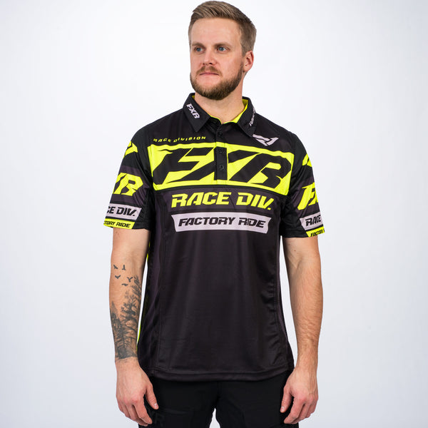 Men's Race Division Tech Polo Shirt