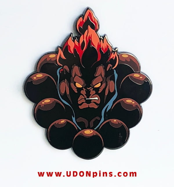 STREET FIGHTER - AKUMA Special Edition Collector's Pin