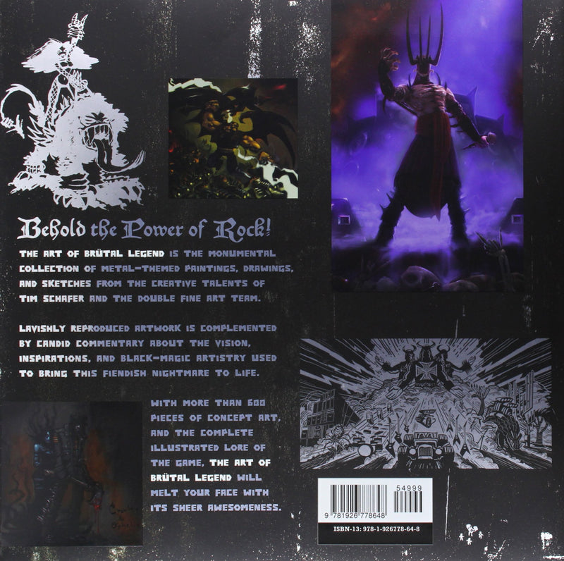 The Art of Brutal Legend (Hardcover)