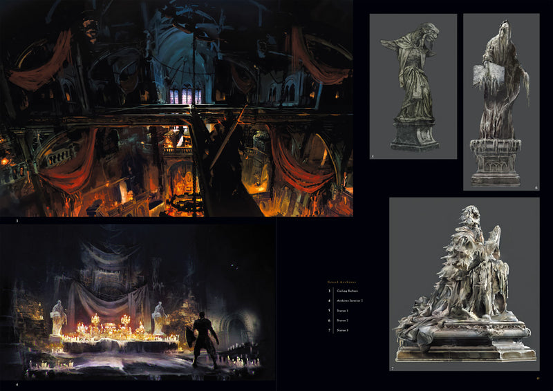 Dark Souls III: Design Works (Hardcover)