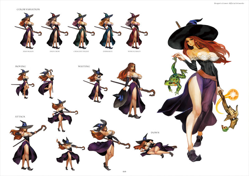 Dragon's Crown: Official Artworks