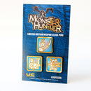 Monster Hunter Assist Weapon Pin Set