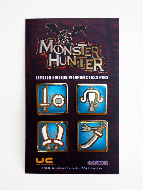 Monster Hunter Light Weapon Pin Set