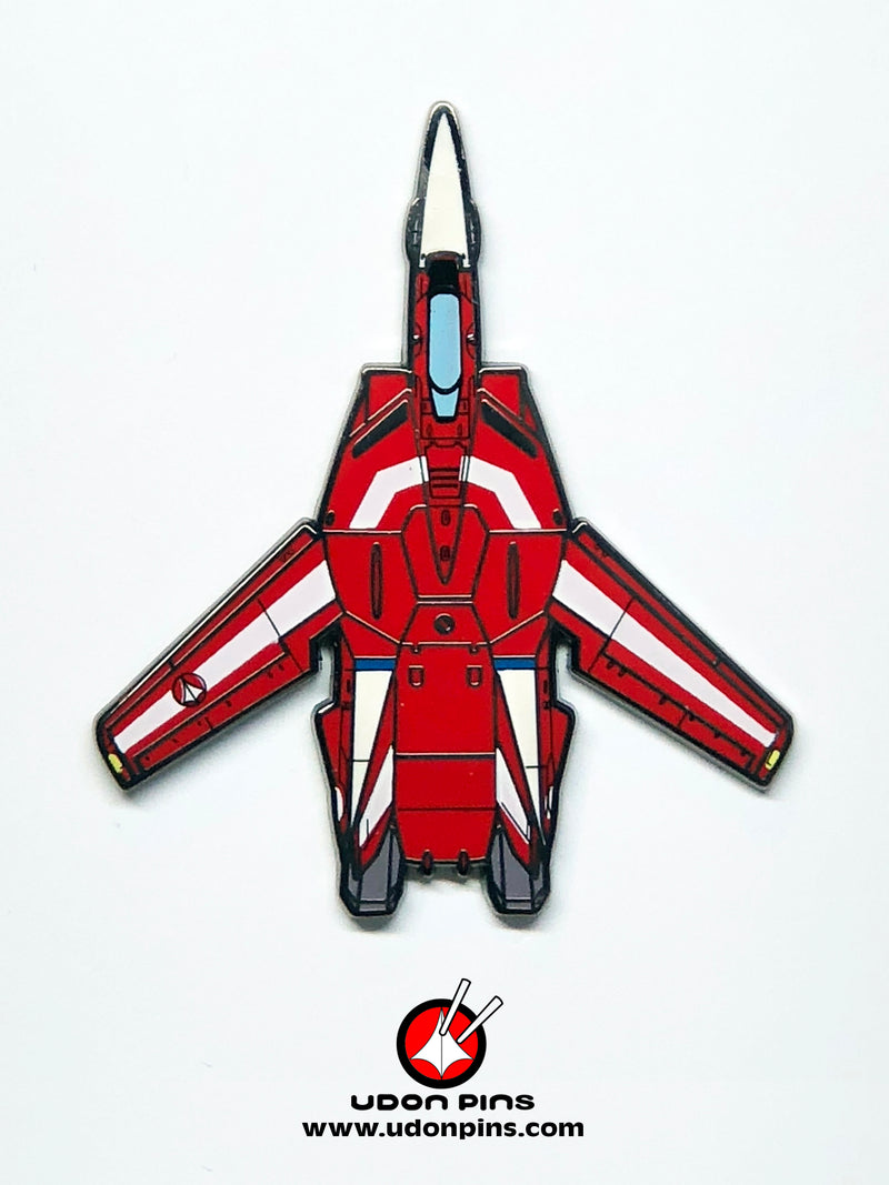 ROBOTECH MACROSS - VF Set of 6 Pins Set, Including Exclusive VF-1D