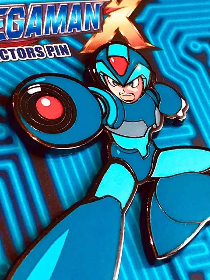 Mega Man X - X Collector's Pin