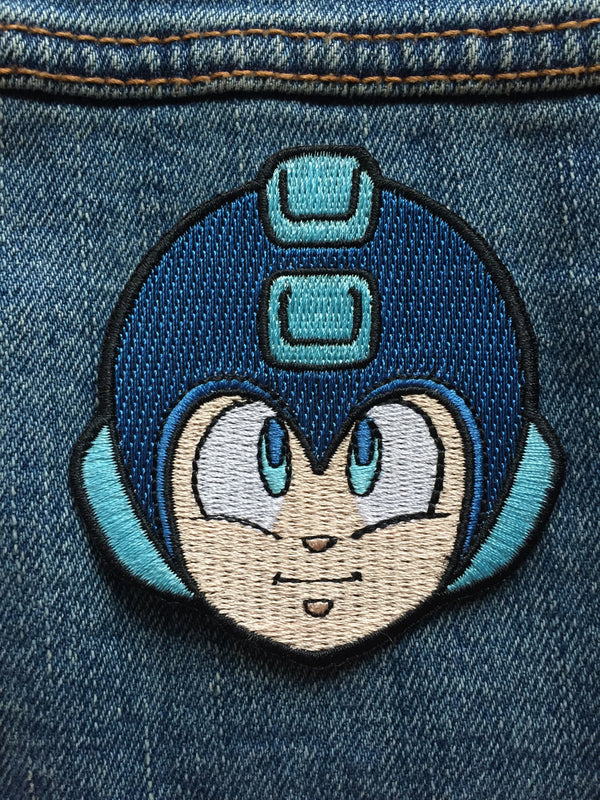 Mega Man Embroidered Patch