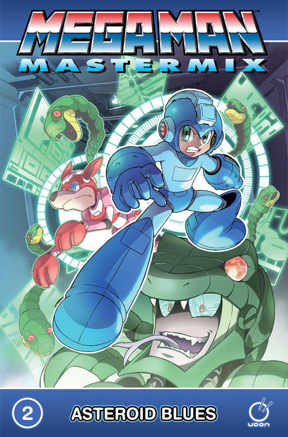 Mega Man Mastermix Volume 2 TP: Asteroid Blues