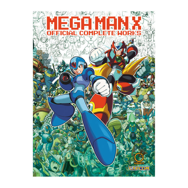 Mega Man X: Official Complete Works (Hardcover)