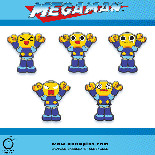 Mega Man Legends - Servbot Collector's Pins