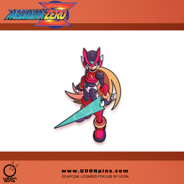 Mega Man Zero Collector's Pin - PRE-ORDER