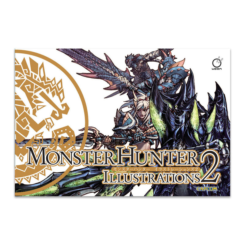 Monster Hunter Illustrations 1 & 2 (Hardcover Bundle)