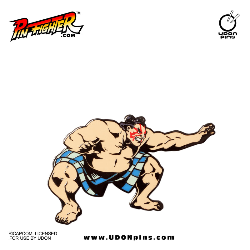 Pin Fighter - Street Fighter: Wrestling Series