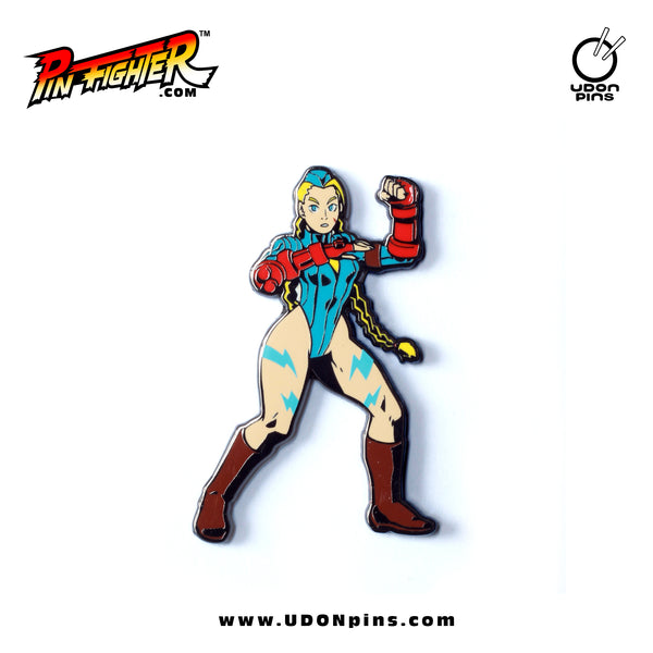 Pin Fighter - Street Fighter Cammy