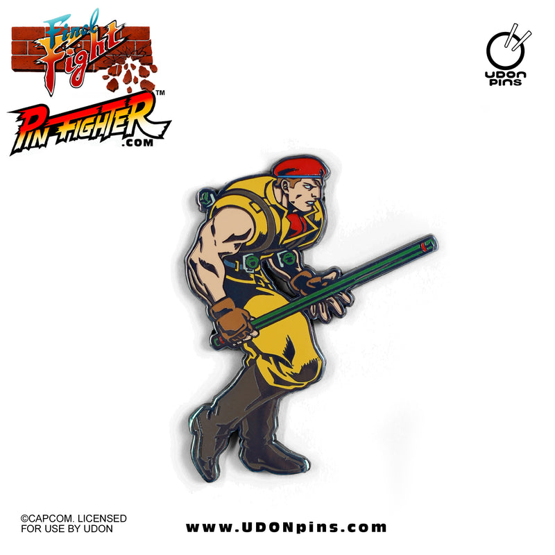 Pin Fighter - Street Fighter: Final Fight Series Collector's Pins