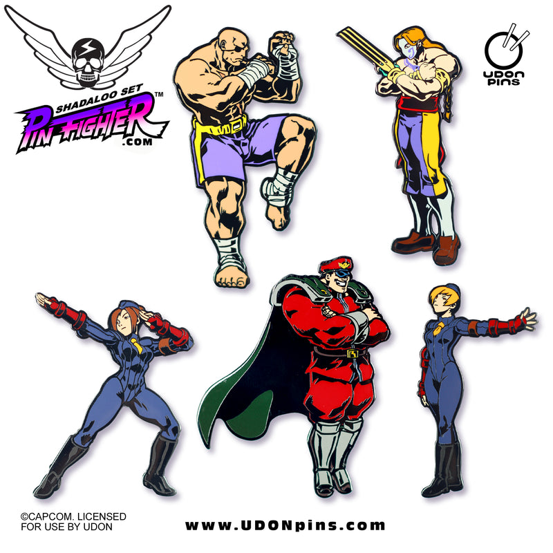 Pin Fighter - Street Fighter: Shadaloo Series Collector's Pins