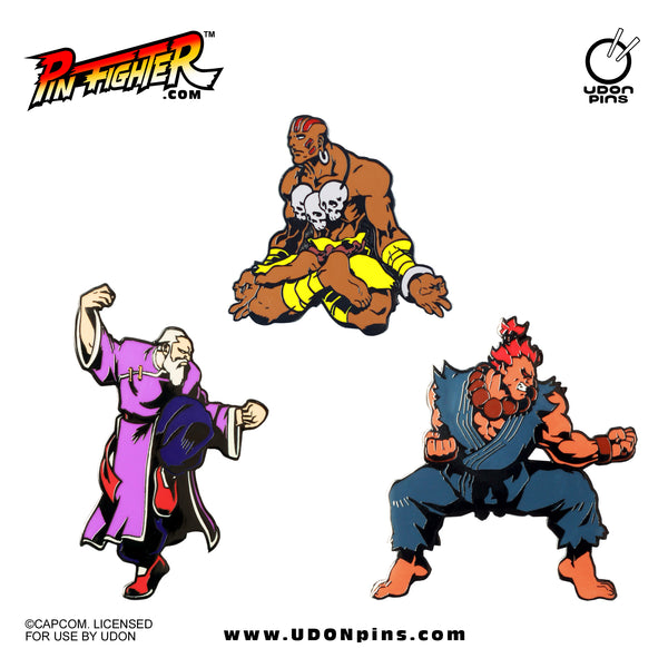 Pin Fighter - Street Fighter: The Masters Series