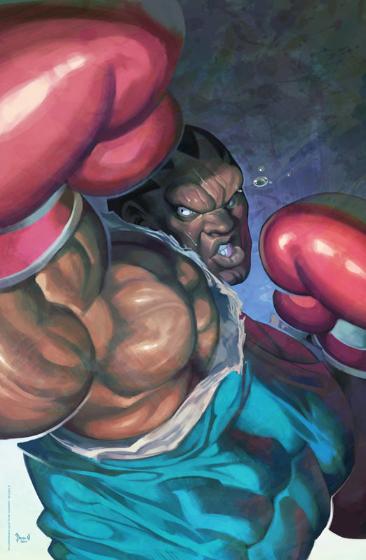 Balrog - Street Fighter: Dark Warriors Premium Print