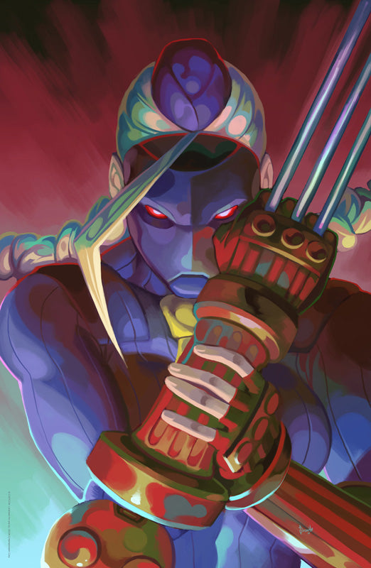 Decapre - Street Fighter: Dark Warriors Premium Print