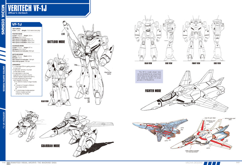 Robotech Visual Archive: The Macross Saga - 2nd Edition (Hardcover)