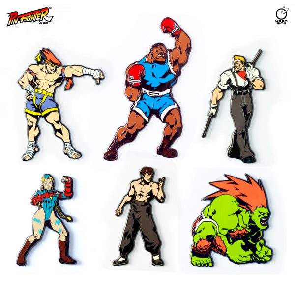 Pin Fighter - Street Fighter Alpha 3 Series 1 - Set of 6 Pins