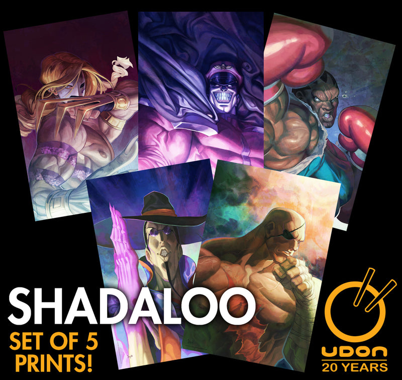 Shadaloo - Set of 5 Street Fighter: Dark Warriors Premium Prints