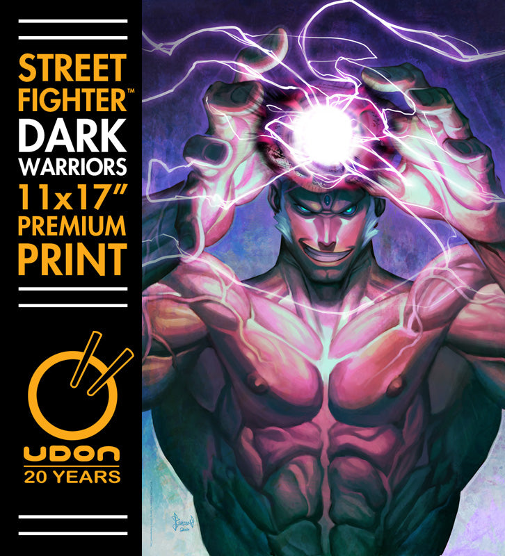 Urien - Street Fighter: Dark Warriors Premium Print