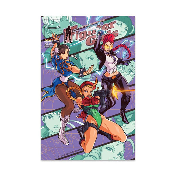 Street Fighter Legends: Cammy #2 1:10 Incentive CVR C