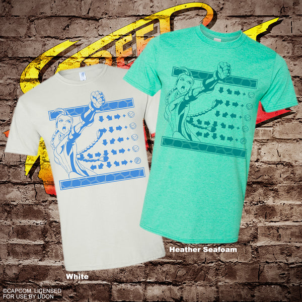 Street Fighter Move Set Tee - Cammy