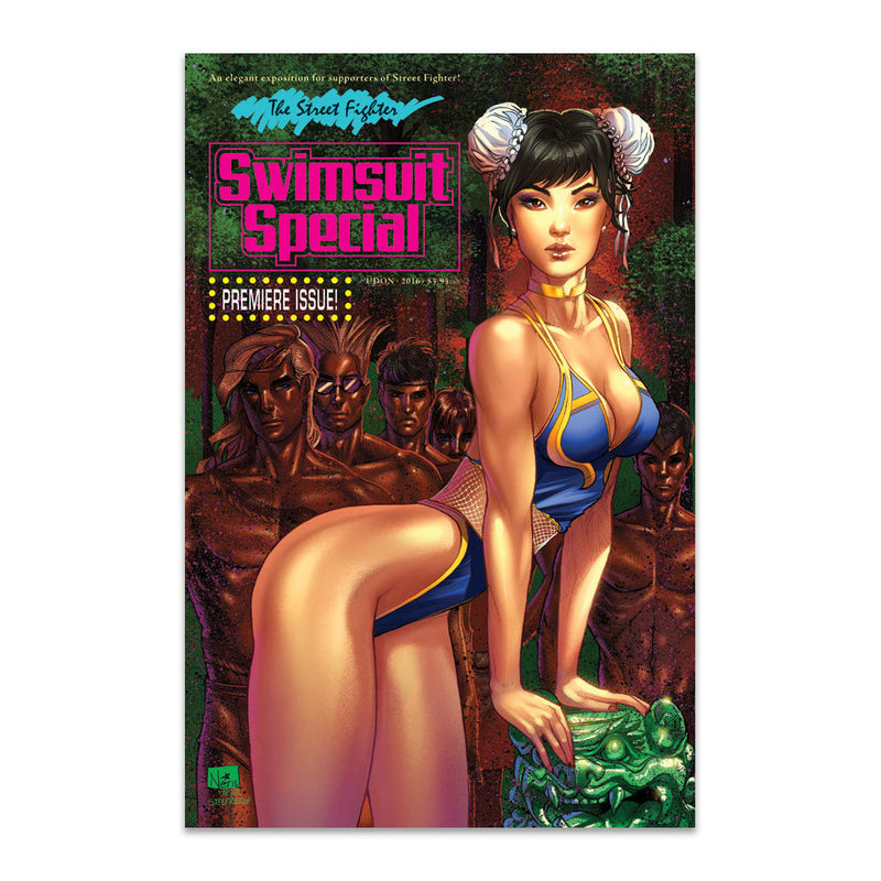 2016 Street Fighter Swimsuit Special - Cover C