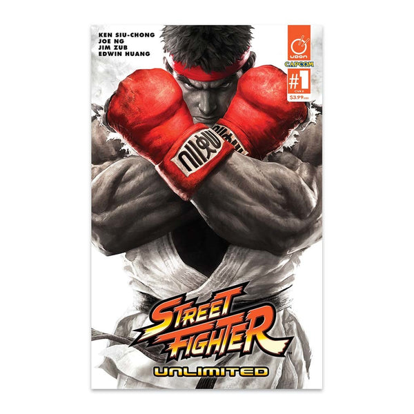 Street Fighter Unlimited #1 1:20 Incentive CVR E SFV Cover