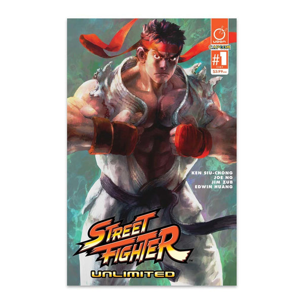 Street Fighter Unlimited #1 1:40 Incentive CVR F Bengus Cover
