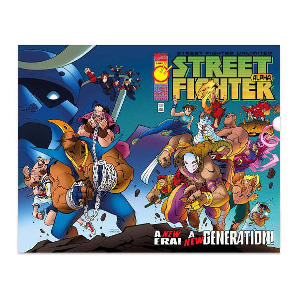 Street Fighter Unlimited #2 1:10 Incentive CVR C Wraparound Homage Cover