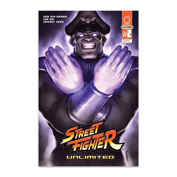 Street Fighter Unlimited #2 1:20 Incentive CVR D Guest Artist Cover