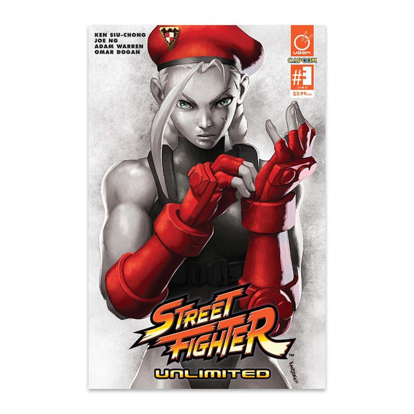 Street Fighter Unlimited #3 1:20 Incentive CVR D Guest Artist Cover