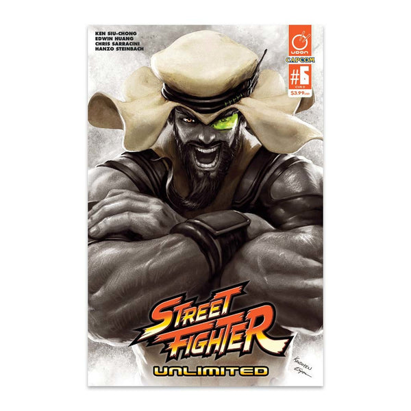 Street Fighter Unlimited #6 1:20 Incentive CVR D Guest Artist Cover