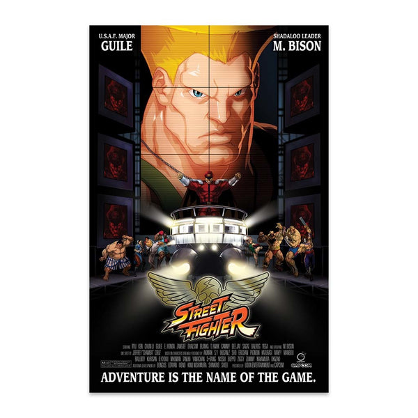 Street Fighter Unlimited #7 CVR C Movie Poster Homage Cover