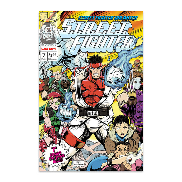 Street Fighter Unlimited #7 1:10 Incentive CVR D Homage Cover