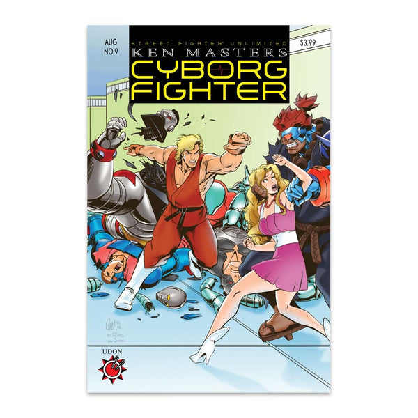 Street Fighter Unlimited #9 1:10 Incentive CVR C Homage Cover