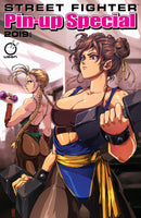 2019 Street Fighter Pin-Up Special Cover A