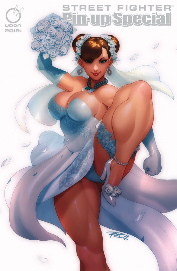 2019 Street Fighter Pin-Up Special UDON-Exclusive Chun-Li Wedding Cover