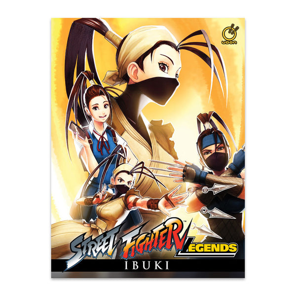 Street Fighter Legends: Ibuki (Hardcover)